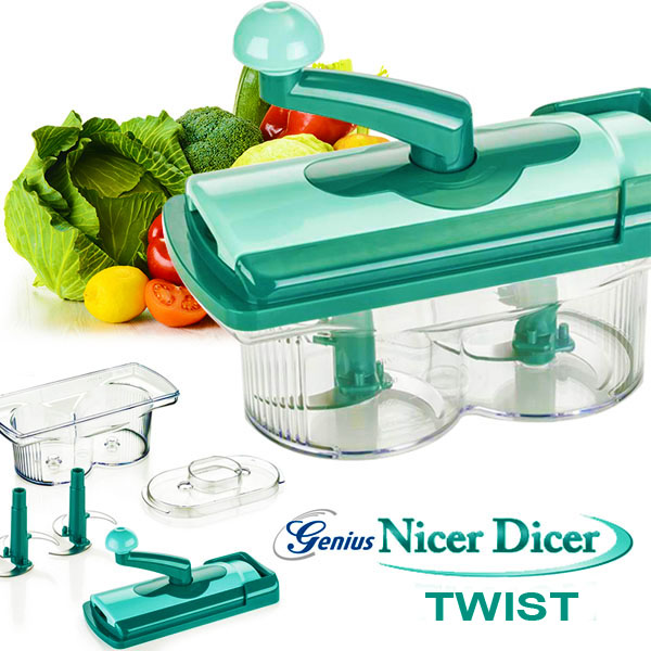 Nicer Dicer Twist in Pakistan