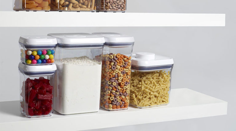 10 Ideas for Organizing Food Storage Containers