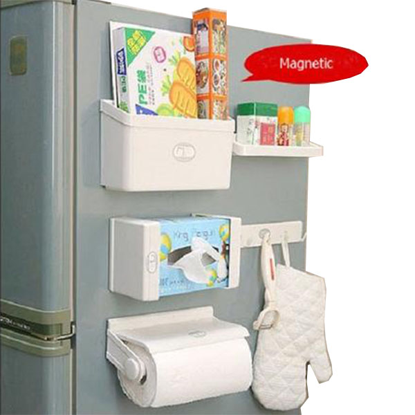 5 New Feeling Magnetic Fridge Shelf in Pakistan