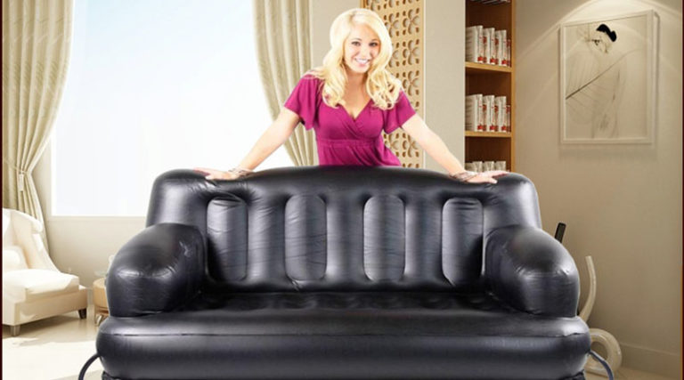 Air Sofa Cum Bed - Seating and Sleeping Solution