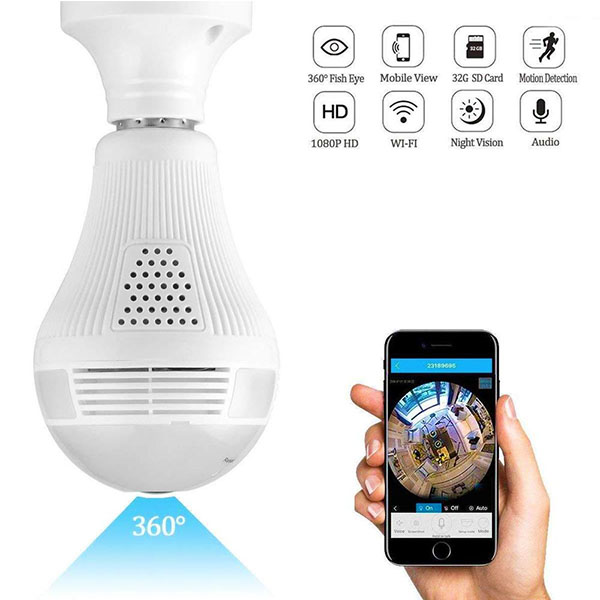360 Light Bulb Camera in Pakistan