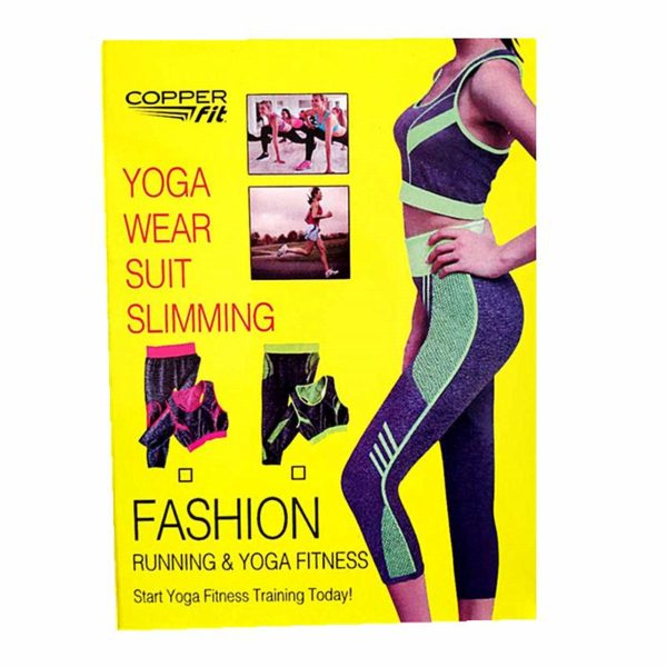Copper Fit Yoga Wear Suit in Pakistan